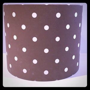 Pottery Barn Teen Polka Dot Lampshade